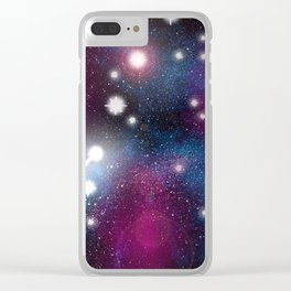 In A Galaxy, Far Far Away Clear iPhone Case