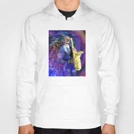 The Sax Player Hoody