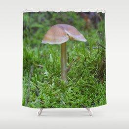 Tiny Fungi. Shower Curtain