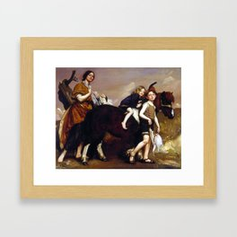 George Washington Lambert Holiday in Essex Framed Art Print