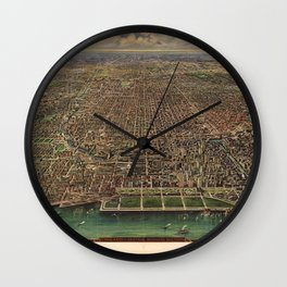 Chicago 1916 Wall Clock