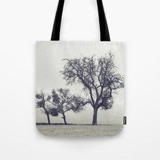 bleak trees... Tote Bag