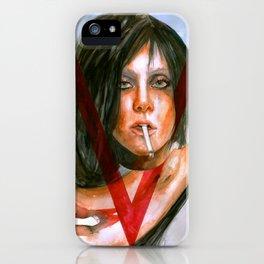LadyGaga as Editor iPhone Case