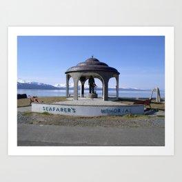 Seafarers Memorial Art Print