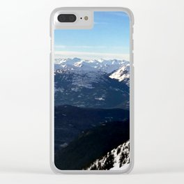 Crispy light air up here Clear iPhone Case
