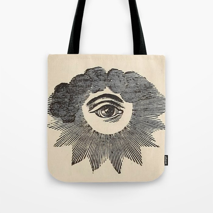 Vintage Magic Eye Tote Bag