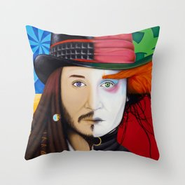 Face It Johnny Throw Pillow