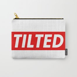 Tilted Carry-All Pouch