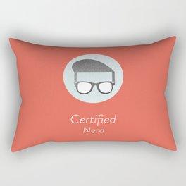 Certified Nerd Rectangular Pillow
