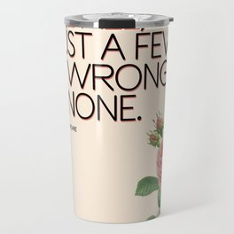 Love All, Trust a Few Travel Mug