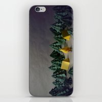 camp iPhone & iPod Skins featuring camp by Chelsea Gass