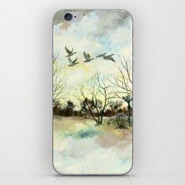 Winter Canada Geese iPhone Skin
