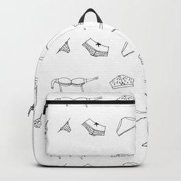 undies b&w Backpack
