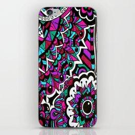 Colourful Mandala Elephant iPhone Skin