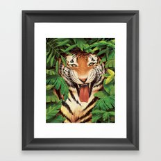 Guardian of the Jungle Framed Art Print