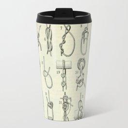 Vintage Knots Chart Travel Mug