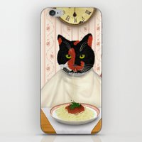 pasta iPhone & iPod Skins featuring Pasta! by Studio Holalola by Mariska Pool