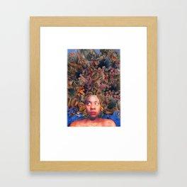 Pretty Prickly Framed Art Print