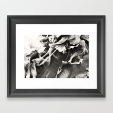 Wasted thoughts  Framed Art Print