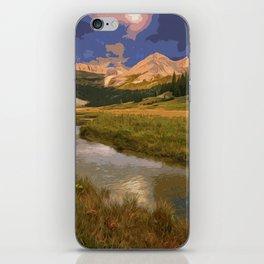 Glacier National Park in Autumn iPhone Skin