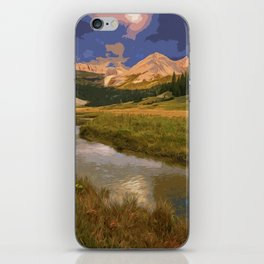 Glacier National Park in Autumn iPhone Skin