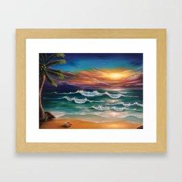 Ode to Palawan Framed Art Print
