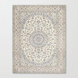 Bohemian Farmhouse Traditional Moroccan Art Style Texture Canvas Print