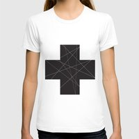 cross T-shirts featuring Cross by hyun yu