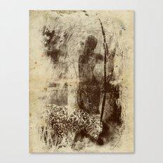 paleo warrior Canvas Print