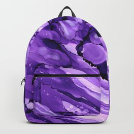 #029 - Monochrome Ink in Purple Backpack