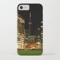 toronto iPhone & iPod Cases featuring Toronto by Michael Linnik