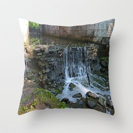 Dancing Since the Music Began Throw Pillow