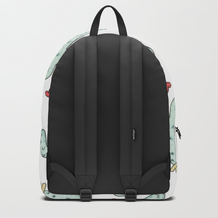 Cactus party print Backpack