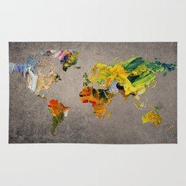 World Map 27 Rug