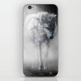wolfflower iPhone Skin