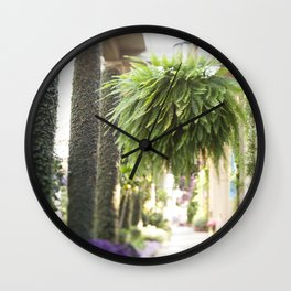 The Fern Wall Clock