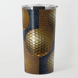 GOLD GOLF Travel Mug