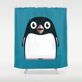 Adélie Penguin Shower Curtain