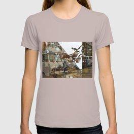 Car Emissions - overlapper T-shirt