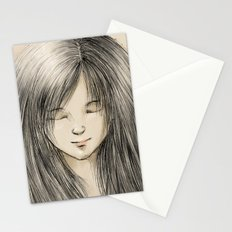 hair dreams Stationery Cards