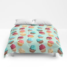 Cup Cakes Party Comforters
