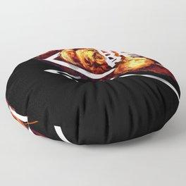 NO REGRETS Floor Pillow