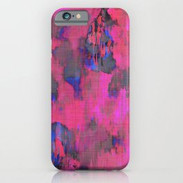 Lysergic Pink iPhone Case