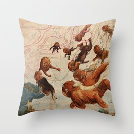 Deep Sound Channel for PLANSPONSOR Magazine Throw Pillow