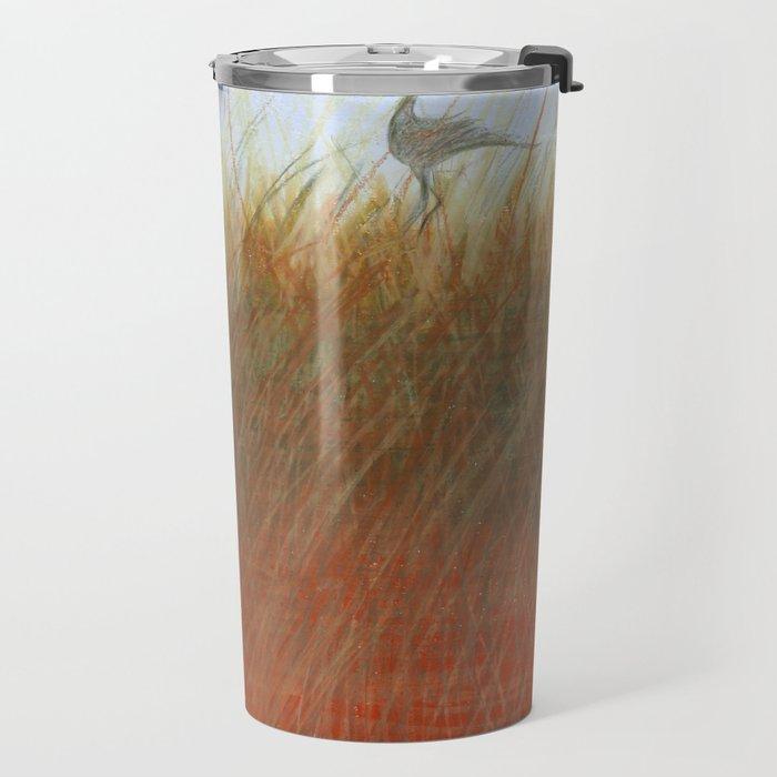 Autumn Marsh Travel Mug