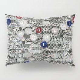 Do The Hokey Pokey (P/D3 Glitch Collage Studies) Pillow Sham