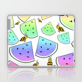 Uninvited Picnic Guests Laptop & iPad Skin