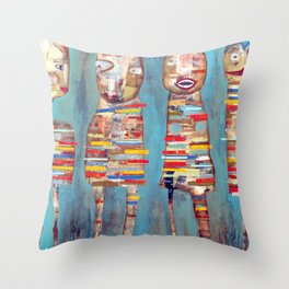 Chicken Legs Throw Pillow
