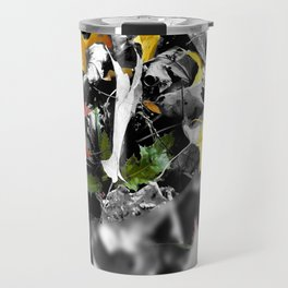 colors in contrast Travel Mug