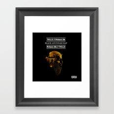 Black Anunnaki Rap Framed Art Print